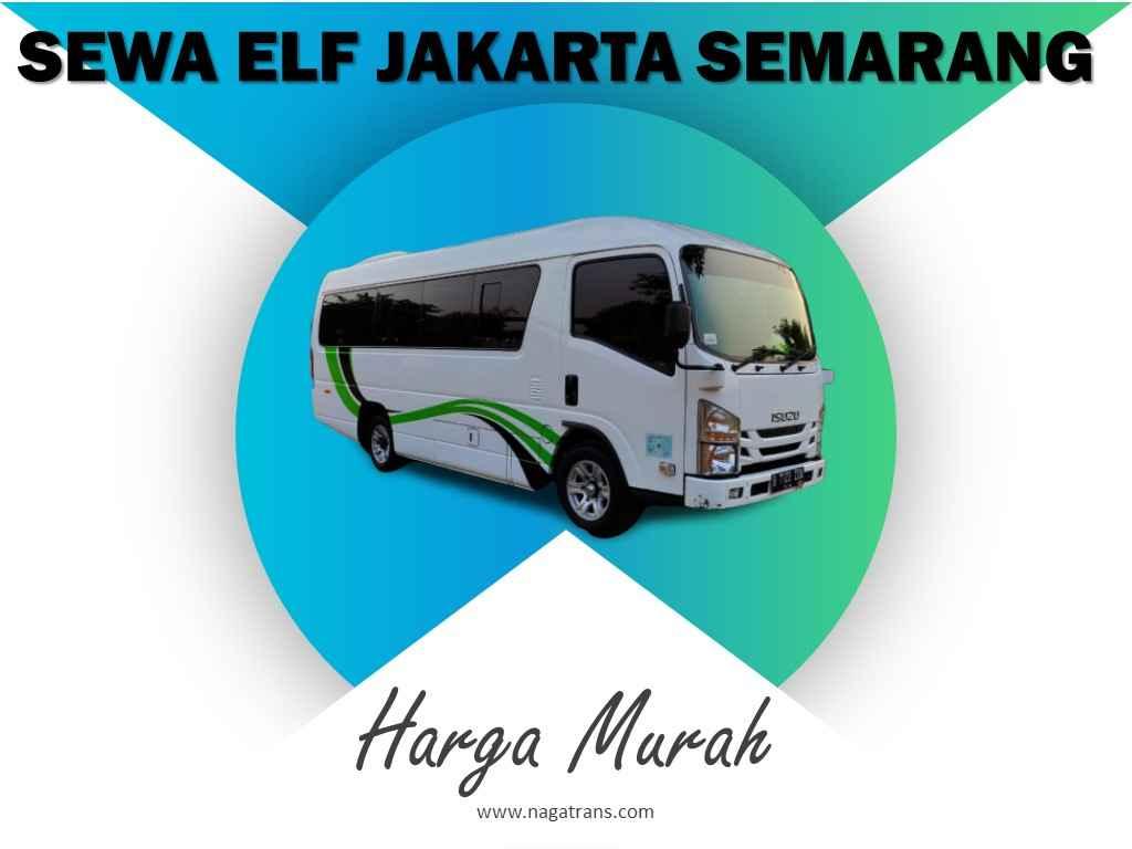 sewa elf Jakarta Semarang Murah