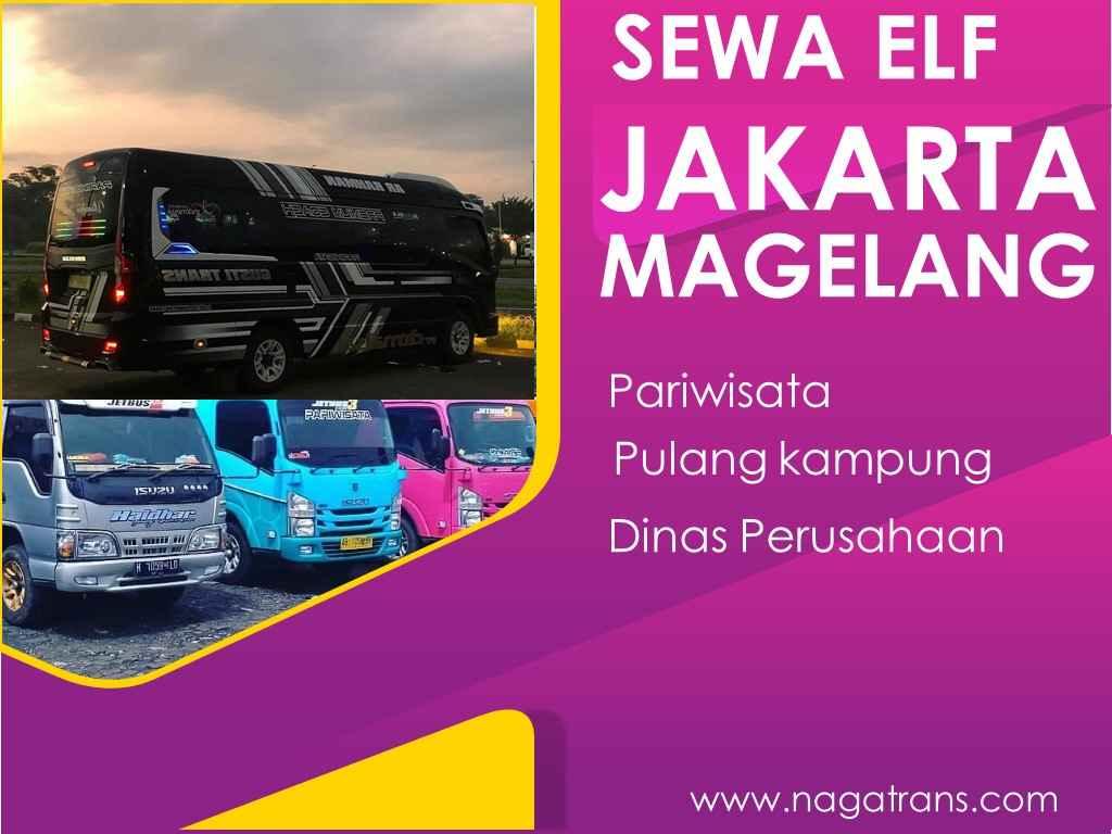 sewa Elf Jakarta Magelang murah